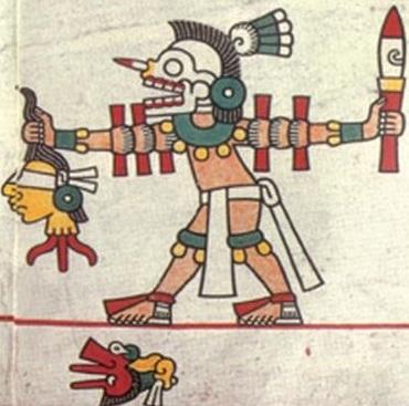 El Juego de la Pelota Azteca Sacrificio-por-decapitacion