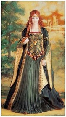Mujer de la aristocracia celta