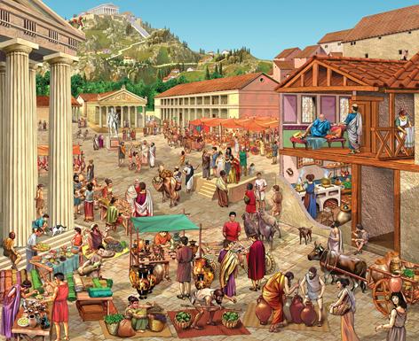 economia edad antigua: