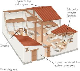 grecia sociedad y vida cotidiana socialhizo On vivienda griega antigua