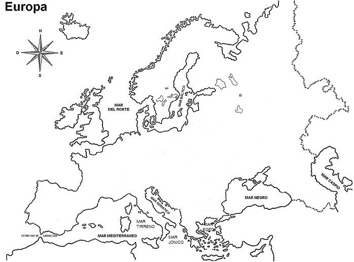 Croquis del mapa de Europa   SocialHizo