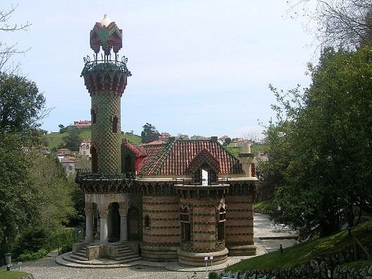 La Villa Quijano conocida como El Capricho