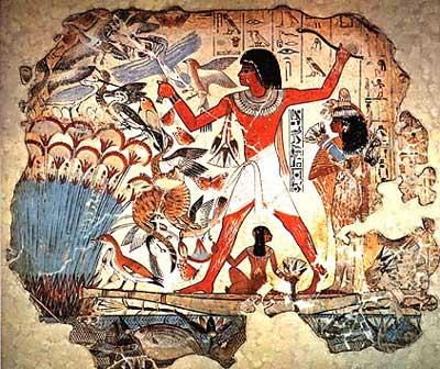 Egipto sociedad y vida cotidiana socialhizo for Mural egipcio