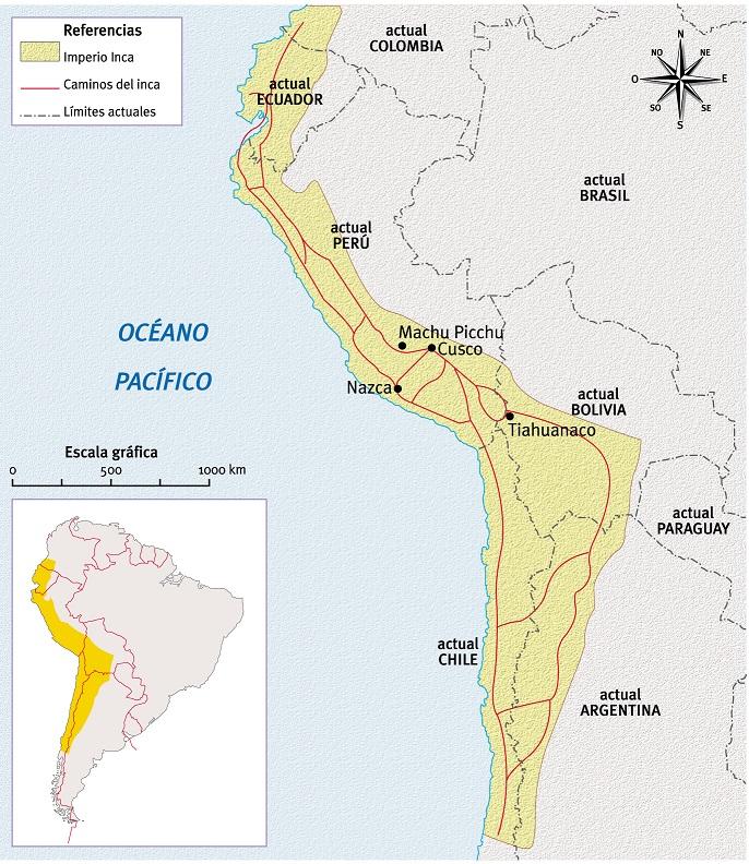 Incas Ubicacion Geografica Socialhizo