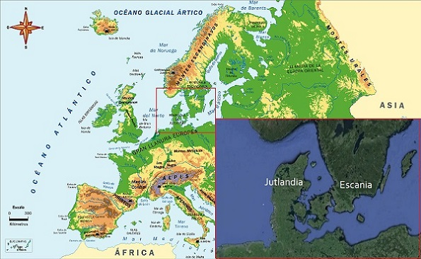 Vikingos Ubicación Geográfica Y Expansión Socialhizo