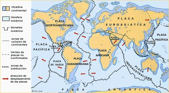 Formación De Los Continentes Tectónica De Placas Socialhizo