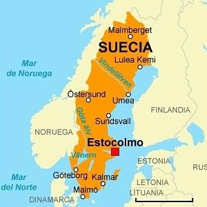 Mapa Politico De Suecia.Suecia Socialhizo