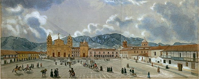 Plaza Mayor, siglo XVIII